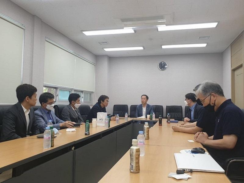 대전 중소기업인 간담회 사진